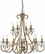 Conlon 12-Leuchten Kronleuchter Astoria Grand