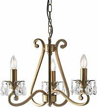 Conlon 3-Leuchten Kronleuchter Astoria Grand