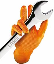 Connect 37302 Grippaz Extra Large Orange Nitrile