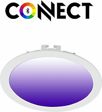 Connect LED Einbaustrahler Ø 22,5cm 2000lm RGB+CCT