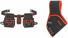Connex Werkzeug-Gürteltasche - 16 Fächer - Mit