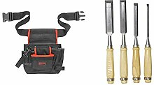 Connex Werkzeug-Gürteltasche - 7 Fächer - Mit