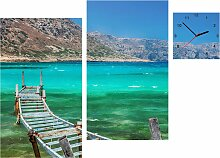 Conni Oberkircher´s Bild Balos Bay, Meer, (Set),