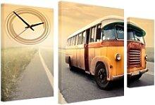 Conni Oberkircher´s Bild Retro Bus, Busse (Set),