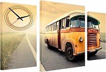 Conni Oberkircher´s Bild Retro Bus, Busse, (Set),