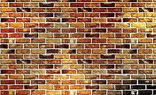 Consalnet DELESTER DESIGN 1534P8Tapete für die Wand, 4Teile, Gestein/Steine/Backstein, beige, 368x 254cm