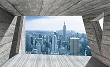Consalnet Fototapete Ausblick New York, Motiv B/L: