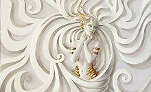 Consalnet Fototapete Medusa, Motiv B/L: 4,16 m x