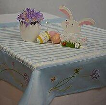 Consept Tischdecke Mitteldecke Ostern Blume Shabby