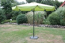 Consul Garden Marktschirm-669740, grün, 250 x 250 x 300 cm, CG669740