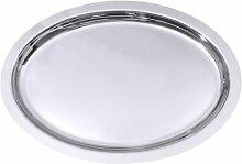 Contacto Edelstahl Bankettplatte oval 62 x 43,5 cm