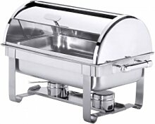 Contacto Edelstahl Roll-Top Chafing Dish mit zwei