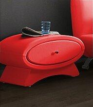 Nachttisch Rot nachttisch rot günstig kaufen lionshome
