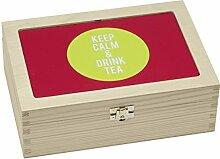 Contento 866373 Teebox Holz ro