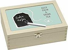 Contento 866387 Teebox Holz grün