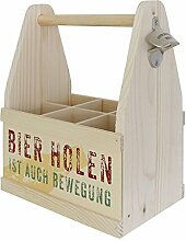 Contento Beer Caddy für 6 Flaschen, BIER HOLEN