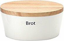 Continenta 1012325010 Brottopf mit Holzdeckel,
