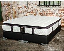 CONTINENTAL Deluxe Boxspringbett Hotelbett Amerikanisches Bett Designbe