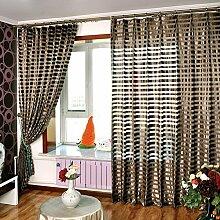 """Continental drucken EmbroideredBedroom Wohnzimmer Licht transparente Fenster Screening , 60W x 96""""""""L"""
