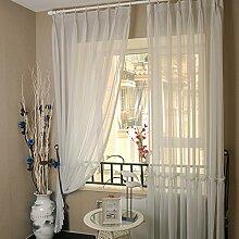 """Continental Drucken Schlafzimmer Wohnzimmer Licht transparente Fenster Screening , 56""""""""WX84""""""""L"""