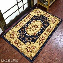 Continental Fußmatten/Tür-teppich/Fußabtreter/Living Room,Schlafzimmer,Anti-rutsch-matte/Gepolsterte Fußauflage Im Foyer-D 60x90cm(24x35inch)