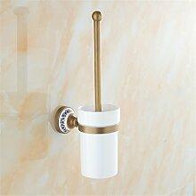 Continental Keramik Porzellan WC-Bürste, antike Cu alle WC-Bürste WC REINIGUNGSBÜRSTE Regal