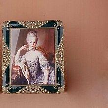 Continental kreative Kombination Fotorahmen Retro-Swing-Sets Hochzeit Bilderrahmen Babyschaukel zwischen einer Kombination von 6-Zoll-Modell
