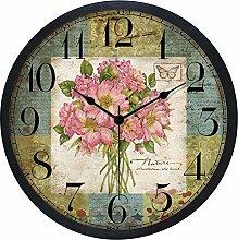 Continental Kreative Minimalistischen Wanduhr Modern Creative Stumm, 25 Cm Uhren