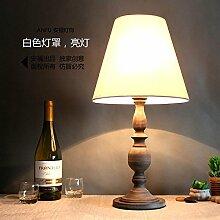 Continental - Lampe Dekoration Retro - Modernen Garten Kreative Doppelbett Mit Lampe Hotel Café,Weiße