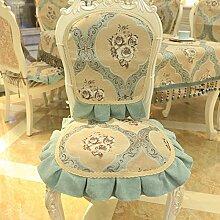 Continental Mode Stuhl zurück Abdeckung/ Stoff zurück Abdeckung-A 50x110cm(20x43inch)