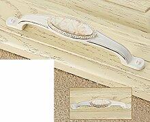 continental pastorale Elfenbein Griff/Marmor Keramik Griff/Hardware Cabinet Schuh Schrank Möbelgriff/Kleiderschrank Schublade Türgriff-D