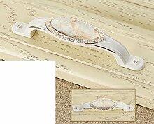 continental pastorale Elfenbein Griff/Marmor Keramik Griff/Hardware Cabinet Schuh Schrank Möbelgriff/Kleiderschrank Schublade Türgriff-C
