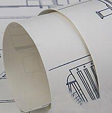 Continental simple wallpaper aircraft druck cartoon tapete vlies aufkleber (0,53 mt * 10 mt) , 3 , 0.53m*10m