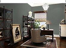 Continental Tapete selbstklebende Schlafzimmer Wohnzimmer wall pvc wasserdicht Aufkleber Quarters Wall Paper 60 * 300 cm, Carbon