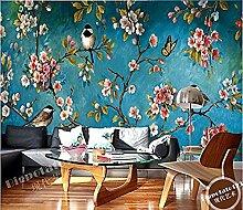 Continental Wandfernseher Antike Blumen und große