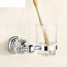 Continental Zahnbürste Becherhalter/Dual-Becherhalter/Becher/Antique Bad-Accessoires-A