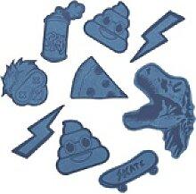 coocazoo StickyRicky Aufkleber-Set Blue
