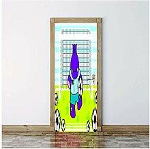 COOCEE Türposter Fototapete - 77x200 cm - PVC