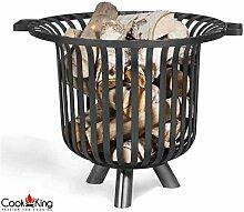 COOK KING BBQ Grill Gartenfeuer Feuerstelle Feuerkorb Verona 60 cm