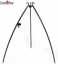 Cook King Dreibein Schwenkgrill mit Kurbel 200 cm