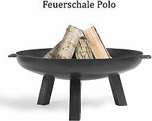COOK KING Feuerschale Grillschale Polo 60cm 70cm 80cm 100cm BBQ Grill Feuerkorb (Durchmesser Ø 70cm)