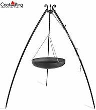 Cook King Wok Grill Schwenkgrill auf dem 200 cm
