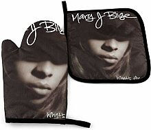 Cooking Mitts Set,Mary J Blige Kochhandschuhe Set,