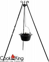 CookKing Dreibein Schwenkgrill Höhe 180 cm mit