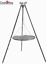 CookKing Dreibeingrill, Höhe 180cm, Rost 60cm,