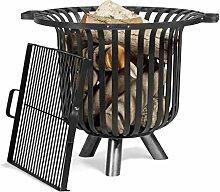 CookKing Feuerkorb Verona mit Grillrost, 60 cm