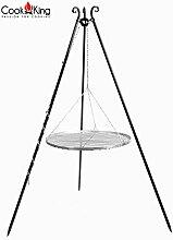CookKing Schwenkgrill Dreibein 180cm Höhe 50cm