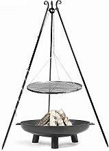 CookKing Set Schwenkgrill mit Rost und Feuerschale