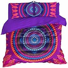 Cool Bedding buntes böhmisches Mandala,