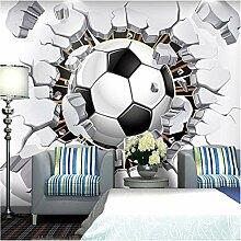 Cool!Fußball Fototapete Fußball Fototapete 3D